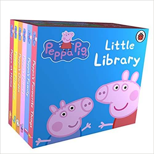 Peppa Pig: Little Library Board book
