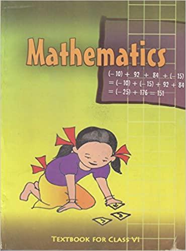 Mathematics Textbook for Class - 6