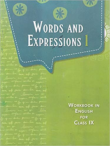 Words And Expressions 1 For Class 9