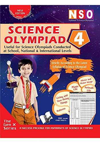 NATIONAL SCIENCE OLYMPIAD - CLASS 4 (WITH OMR SHEETS)