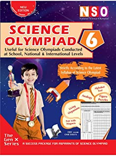 NATIONAL SCIENCE OLYMPIAD - CLASS 6 (WITH OMR SHEETS)