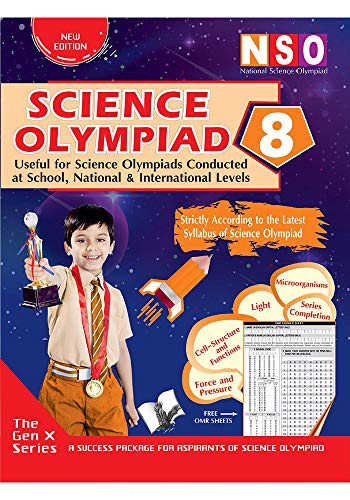 NATIONAL SCIENCE OLYMPIAD - CLASS 8 (WITH OMR SHEETS)