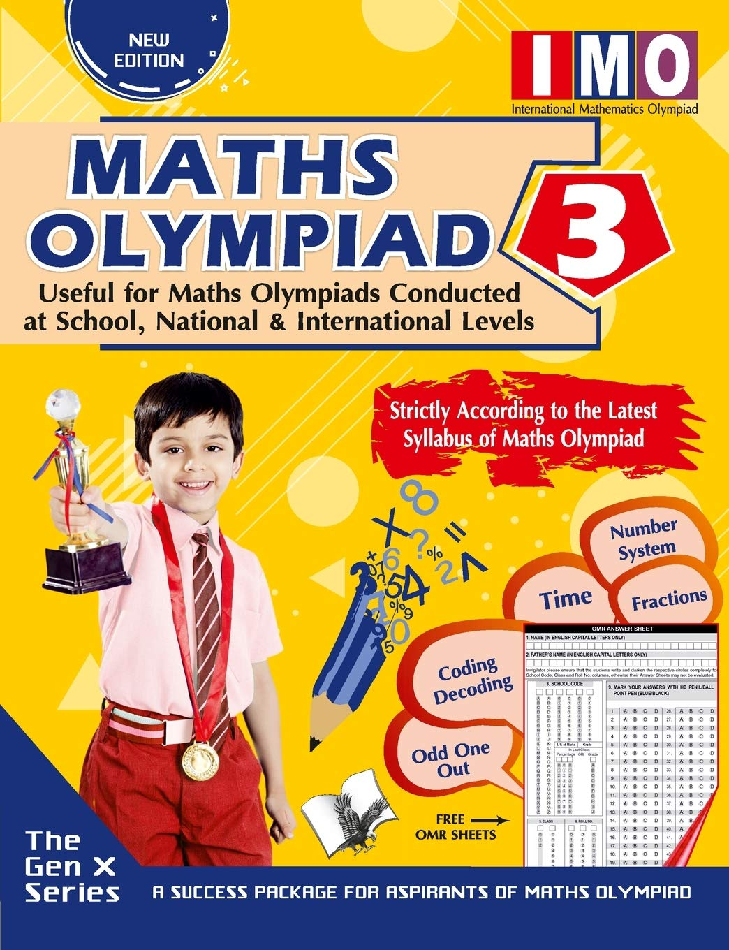 MATHS OLYMPIAD 3 (USEFUL FOR MATHS OLYMPIADS CONDUCTED AT SCHOOL, NATIONAL & INTERNATIONAL LEVELS)