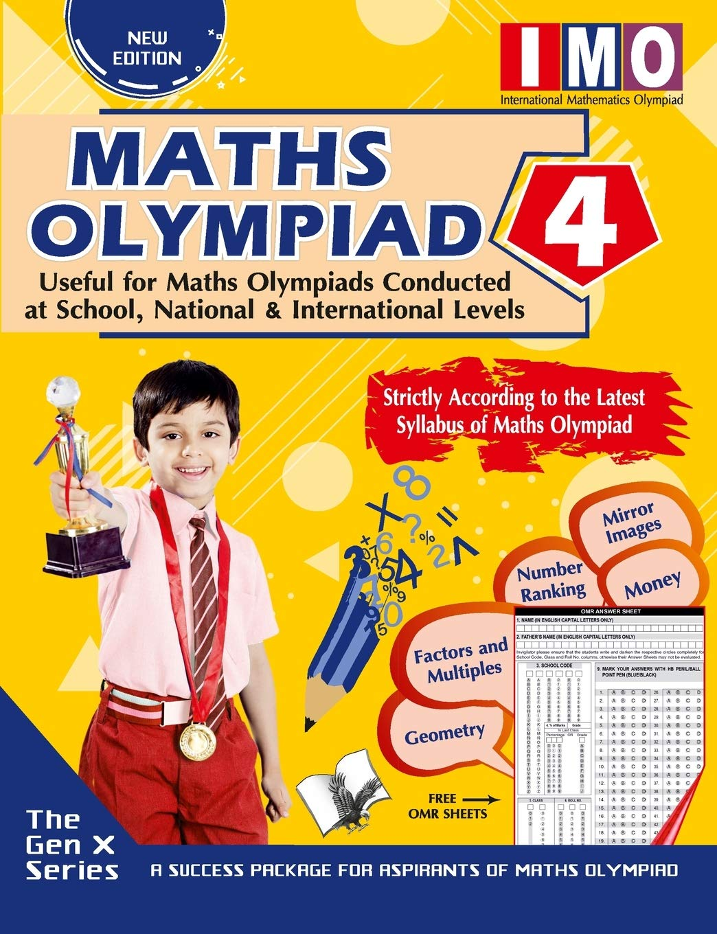 MATHS OLYMPIAD 4 (USEFUL FOR MATHS OLYMPIADS CONDUCTED AT SCHOOL, NATIONAL & INTERNATIONAL LEVELS)