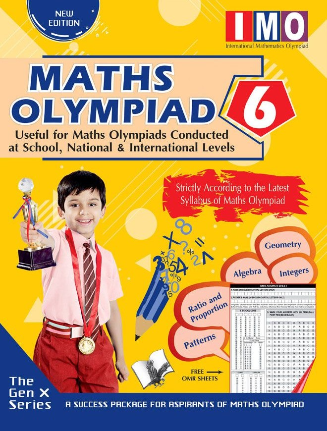 Maths Olympiad 6 (Useful for Maths Olympiads Conducted at School, National & International Levels)