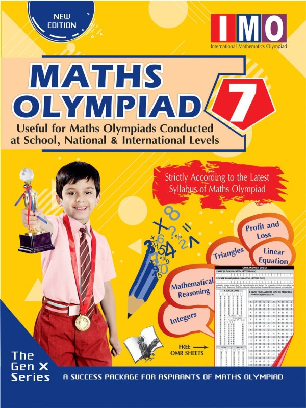 MATHS OLYMPIAD 7 (USEFUL FOR MATHS OLYMPIADS CONDUCTED AT SCHOOL, NATIONAL & INTERNATIONAL LEVELS)