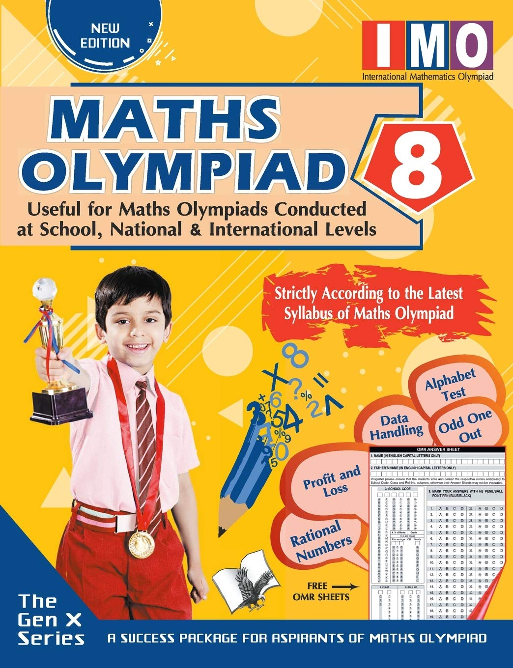 MATHS OLYMPIAD 8 (USEFUL FOR MATHS OLYMPIADS CONDUCTED AT SCHOOL, NATIONAL & INTERNATIONAL LEVELS)