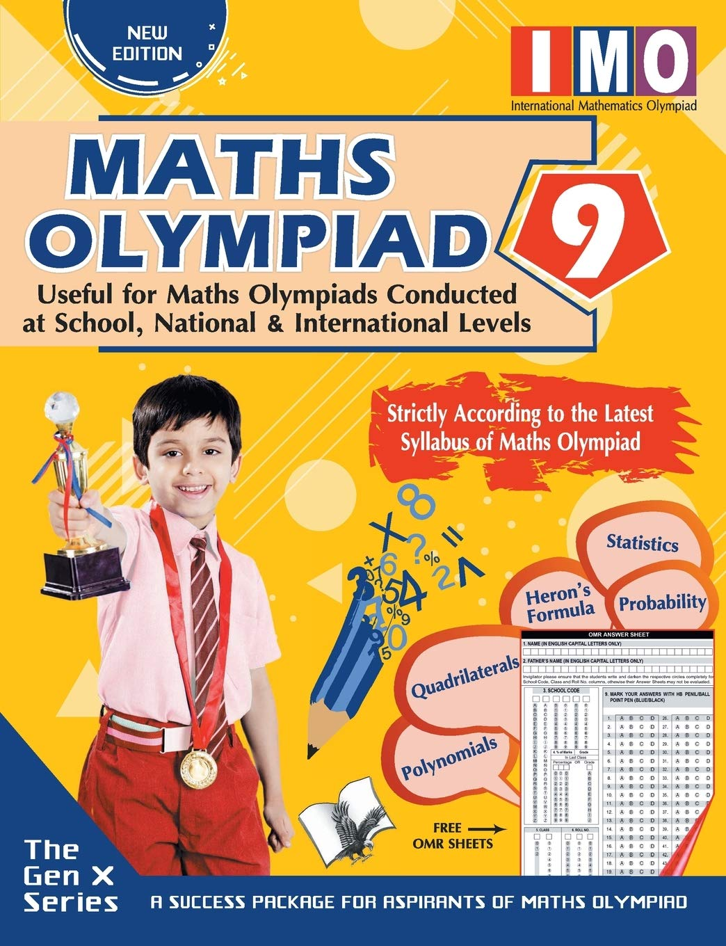MATHS OLYMPIAD 9 (USEFUL FOR MATHS OLYMPIADS CONDUCTED AT SCHOOL, NATIONAL & INTERNATIONAL LEVELS)