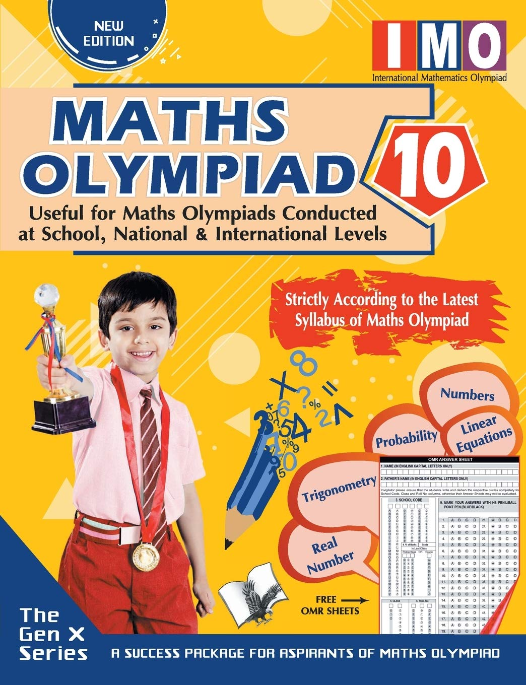 MATHS OLYMPIAD 10 (USEFUL FOR MATHS OLYMPIADS CONDUCTED AT SCHOOL, NATIONAL & INTERNATIONAL LEVELS)