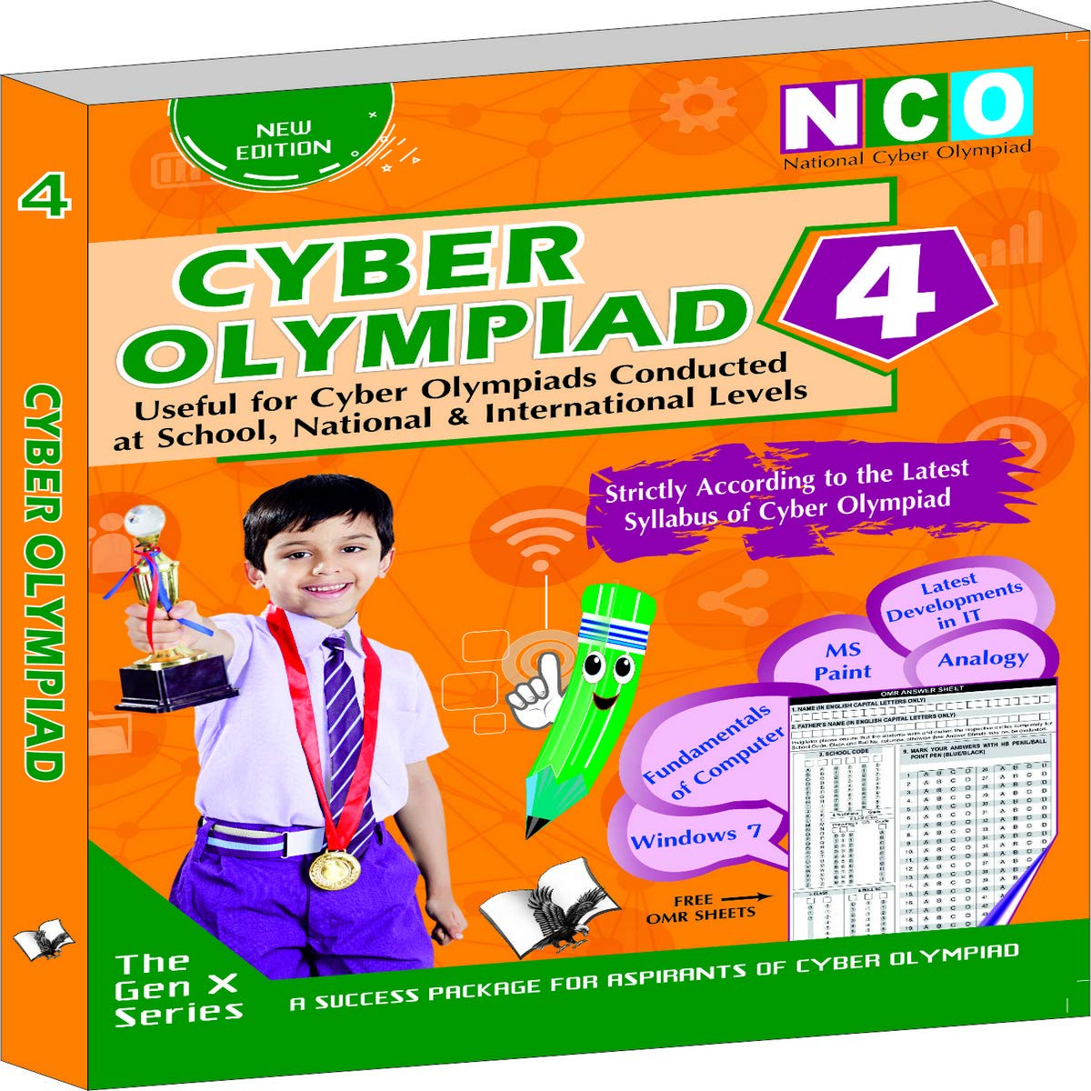 CYBER OLYMPIAD 4 (USEFUL FOR CYBER OLYMPIADS CONDUCTED AT SCHOOL, NATIONAL & INTERNATIONAL LEVELS)