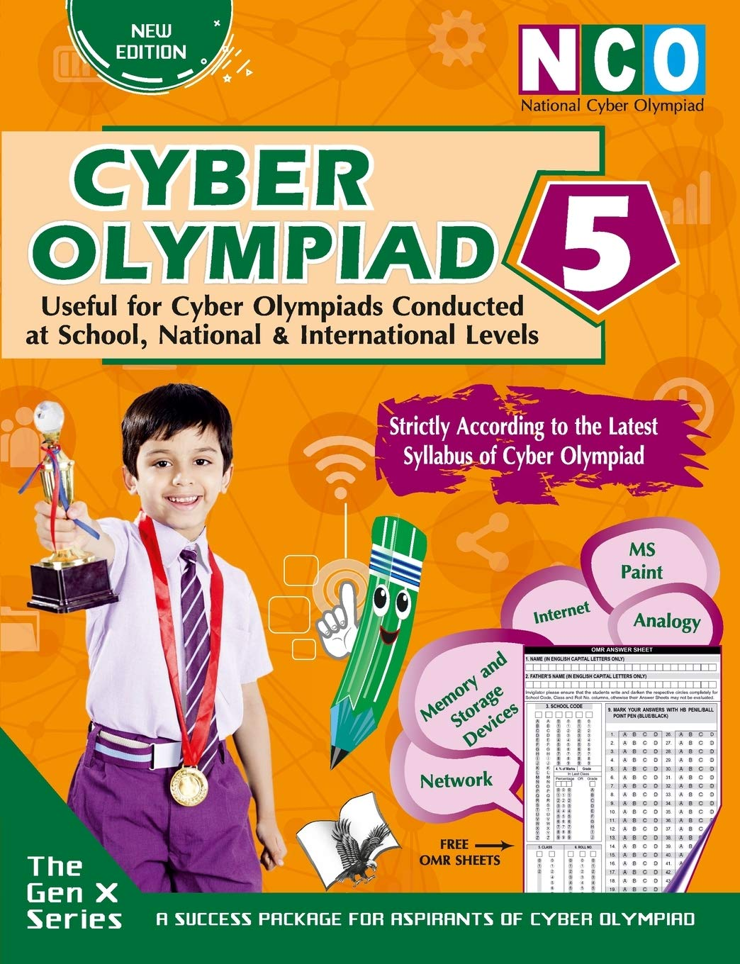 CYBER OLYMPIAD 5 (USEFUL FOR CYBER OLYMPIADS CONDUCTED AT SCHOOL, NATIONAL & INTERNATIONAL LEVELS)