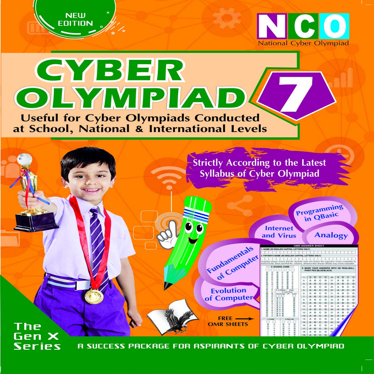 Cyber Olympiad 7 (Useful for Cyber Olympiads Conducted at School, National & International Levels)