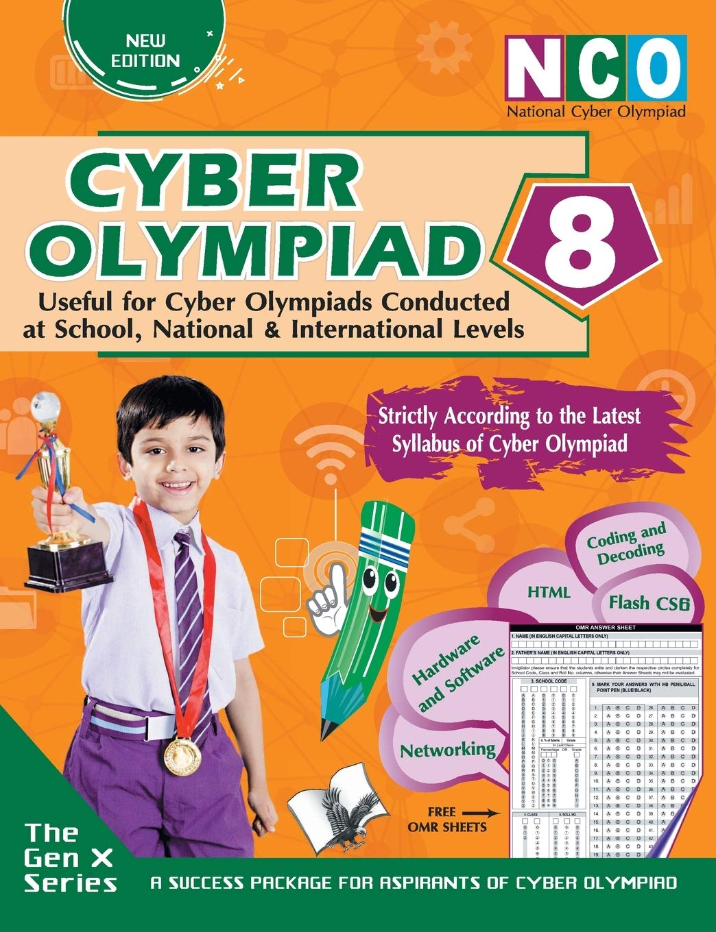 Cyber Olympiad 8 (Useful for Cyber Olympiads Conducted at School, National & International Levels)