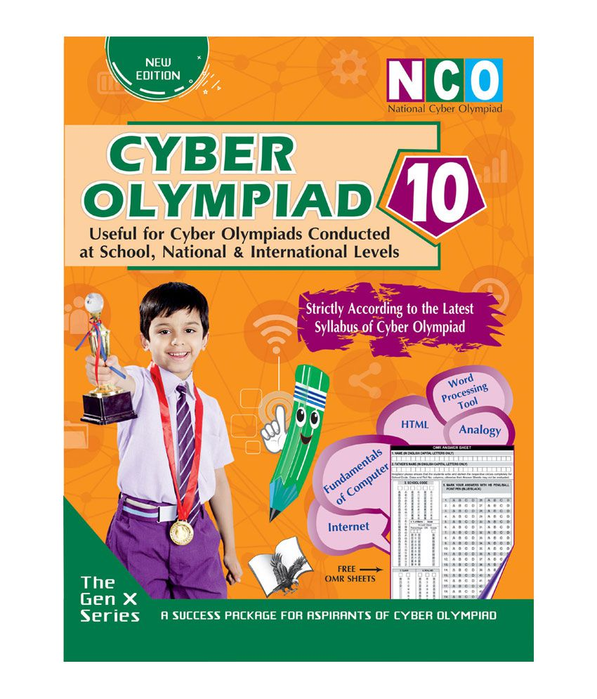 CYBER OLYMPIAD 10 (USEFUL FOR CYBER OLYMPIADS CONDUCTED AT SCHOOL, NATIONAL & INTERNATIONAL LEVELS)