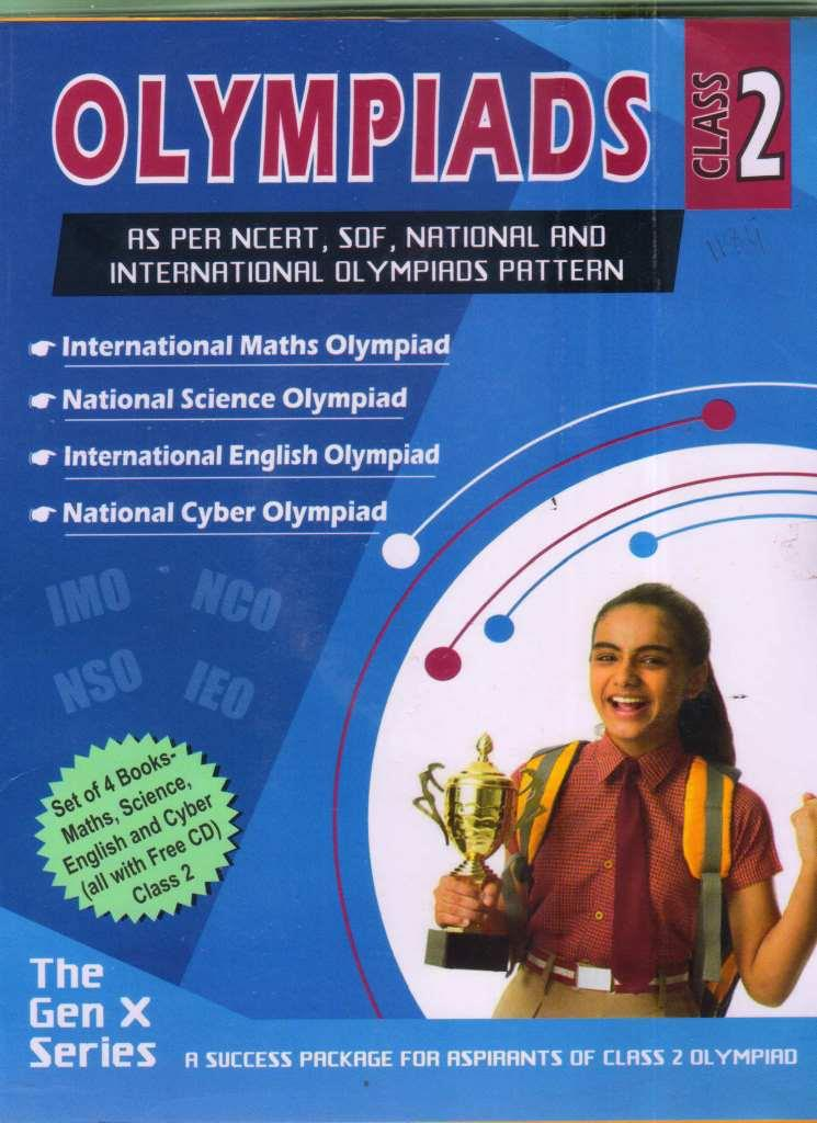 OLYMPIAD VALUE PACK CLASS 2 (4 BOOK SET, WITH CD)