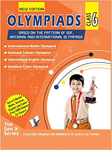 Olympiad Value Pack Class 6 (4 Book Set)