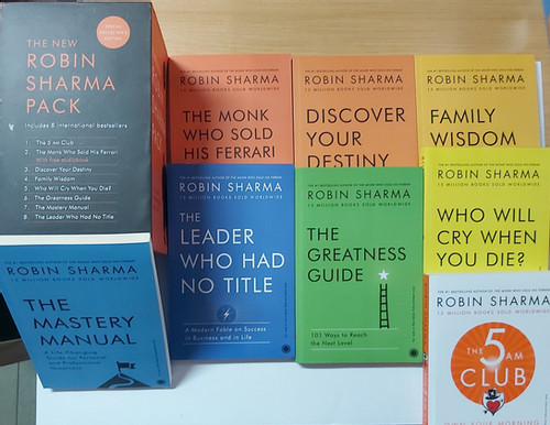 THE NEW ROBIN SHARMA PACK (LIBRARY FOR LEGENDS)