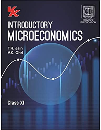 Introductory Microeconomics - Class 11 - CBSE (2020-21)