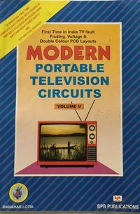 MODERN PORTABLE TELEVISION CIRCUITS, VOL. V