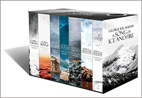 A Song of Ice and Fire - A Game of Thrones Boxset: The Story Continues (Set of 7 Books)