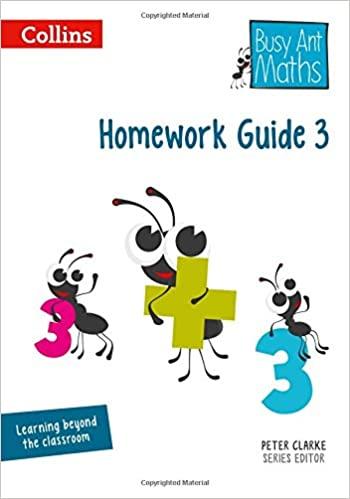 BUSY ANT MATHS - HOMEWORK GUIDE 3
