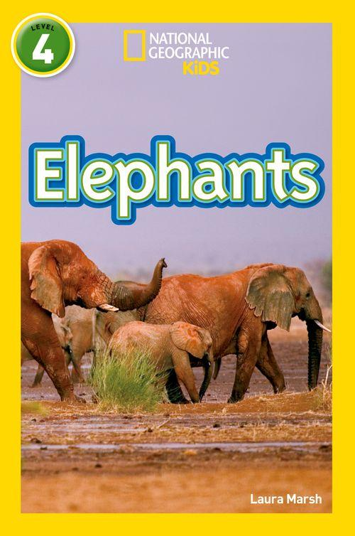 NATIONAL GEOGRAPHIC READERS - ELEPHANTS : LEVEL 4