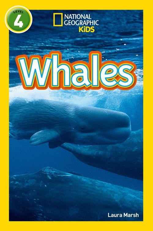 NATIONAL GEOGRAPHIC READERS - WHALES : LEVEL 4