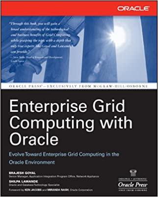 ENTERPRISE GRID COMPUTING WITH ORACLE