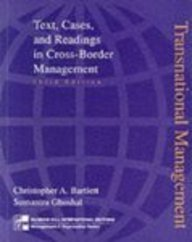 Transnational Management: Text Cases and Readings in Cross Border Management