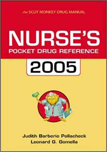 Nurse's Pocket Drug Guide 2005