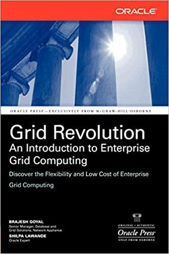 Grid Revolution: An Introduction to Enterprise Grid Computing