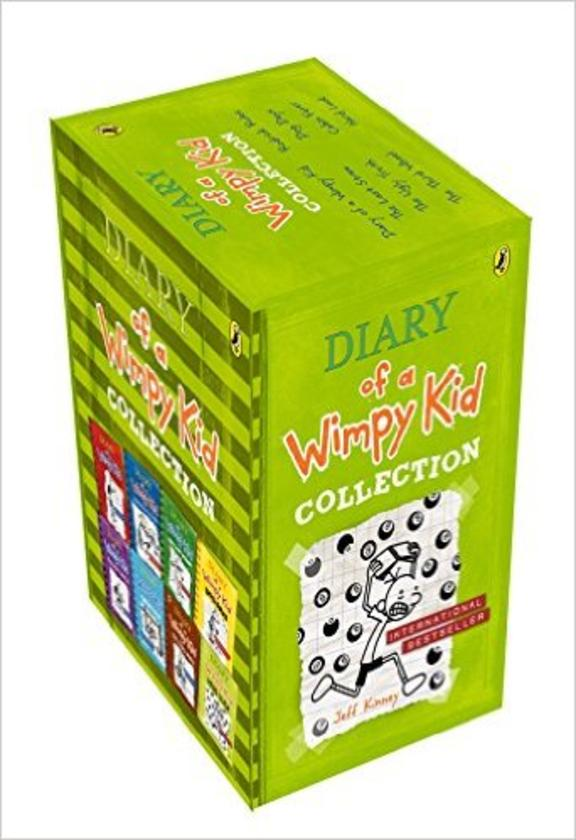 DIARY OF A WIMPY KIDS BOX SET OF 08 BOOKS
