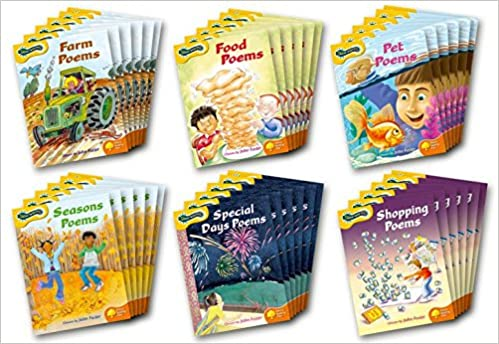 Oxford Reading Tree: Levels 5-6: Glow-worms: Class Pack (36 books, 6 books of each title)