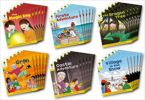OXFORD READING TREE: LEVEL 5: STORIES: CLASS PACK OF 36