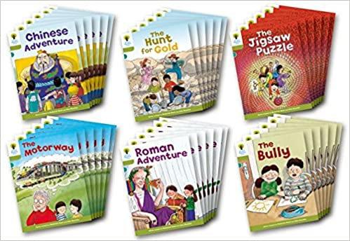 OXFORD READING TREE: LEVEL 7: MORE STORIES A: CLASS PACK OF 36