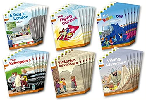 OXFORD READING TREE: LEVEL 8: STORIES: CLASS PACK OF 36