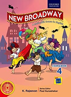 New Broadway Course Book in English Class 4