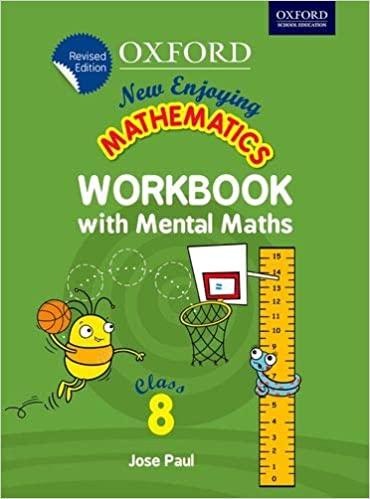 NEW ENJOYING MATHEMATICS WORKBOOK WITH MENTAL MATHS 8