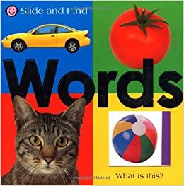 LARGE SLIDE AND FIND WORDS