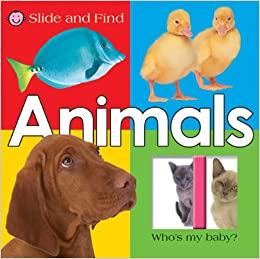 LARGE SLIDE AND FIND ANIMALS