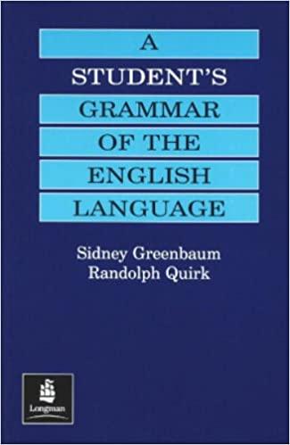 Student's Grammar of the English Language