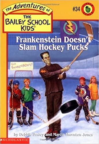 Frankenstein Doesn't Slam Hockey Pucks
