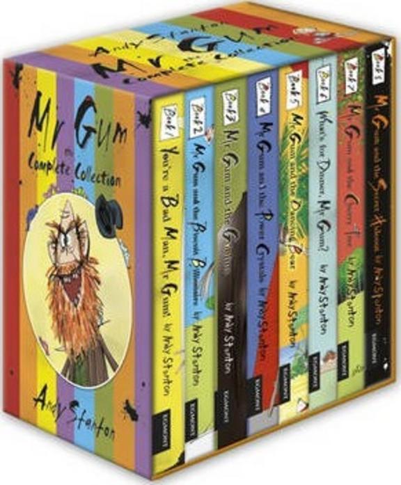 Mr. Gum 8BK Set
