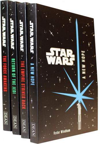 Star Wars Junior Novel Collection 4 Books Set