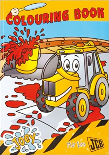JCB My First Colouring Book