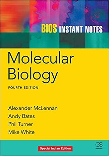 BIOS Instant Notes Molecular Biology