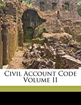 CIVIL ACCOUNT CODE VOLUME II
