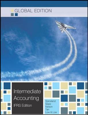 INTERMEDIATE ACCOUNTING - GLOBAL EDITION