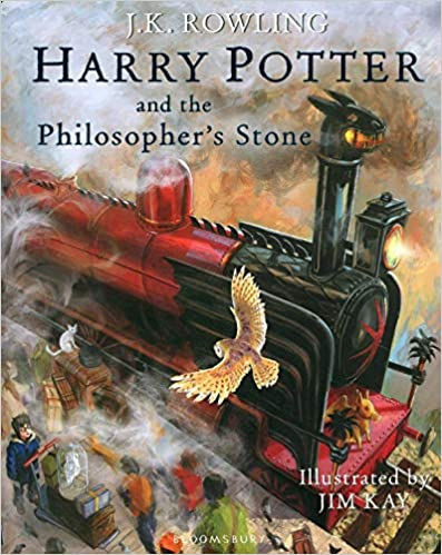 HARRY POTTER AND THE PHILOSOPHERS STONE ILLUSTRATED ED
