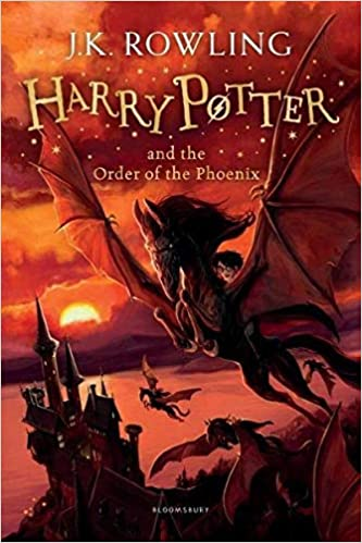 HARRY POTTER AND THE ORDER OF THE PHOENIX - NEW JACKET